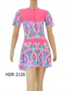 Baju Renang Semi Cover Dewasa HDR-2126