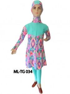 Baju renang anak muslimah ML-TG 034