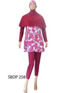 Baju Renang Muslimah SBDP 258