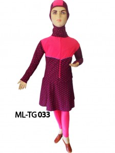 Baju renang anak muslimah ML-TG 033