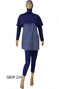 Baju Renang Muslimah SBDP 259