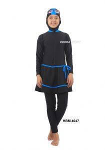 Baju renang muslimah dewasa HBM-4047