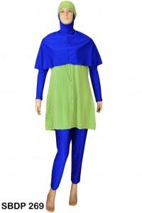 Baju Renang Muslimah SBDP 269