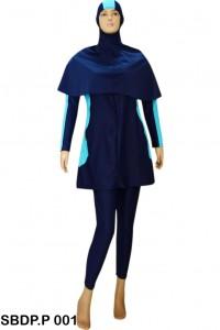 Baju Renang Muslimah SBDP.P 001