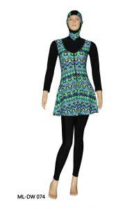 Baju Renang Muslimah Dewasa ML-DW 074
