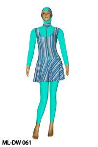 Baju renang muslimah dewasa ML-DW 061