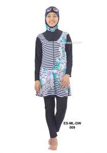 Baju renang muslimah dewasa ES-ML-DW 009