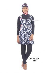 Baju renang muslimah dewasa ES-ML-DW 011