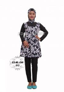 Baju renang muslimah dewasa ES-ML-DW 013