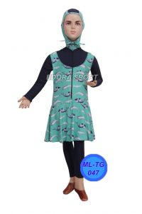 Baju renang anak muslimah ML-TG 047