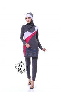 Baju renang muslimah NY-P 001