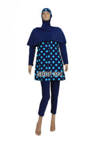 Baju Renang Muslimah SBDP 314