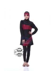 Baju Renang Muslimah NSP 002