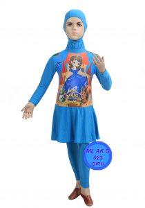 Baju Renang anak TK ML-AK G 023 biru