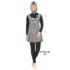 Baju renang muslimah dewasa ES-ML-DW 017