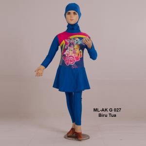 Baju Renang Anak ML-AK G 027 Biru Tua