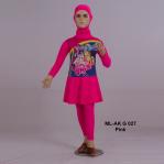 Baju Renang Anak ML-AK G 027 Pink