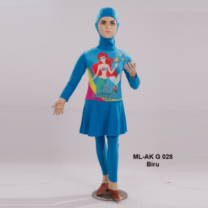 Baju Renang Anak ML-AK G 028 Biru