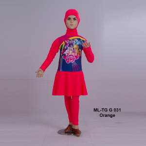 Baju Renang Anak ML-TG G 031 Orange