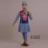 Baju Renang Anak ML-TG G 031 Biru Sapphire