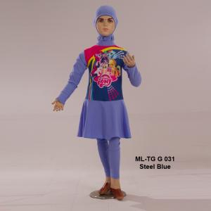Baju Renang Anak ML-TG G 031 Steel Blue