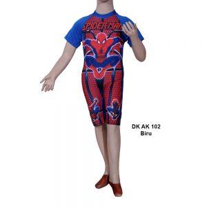 Baju Renang Diving Anak DK AK 102 Biru