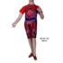 Baju Renang Diving Anak DK AK 102 Merah