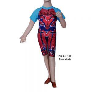 Baju Renang Diving Anak DK AK 102 Biru Muda