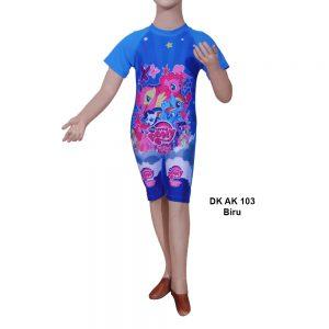 Baju Renang Diving Anak DK AK 103 Biru