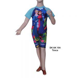 Baju Renang Diving Anak DK AK 104 Tosca