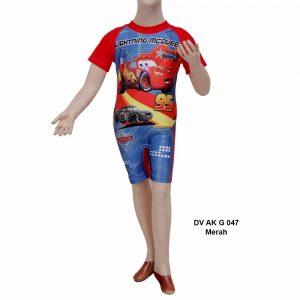 Baju Renang Anak Laki Laki Deedo DV AK G 047 merah