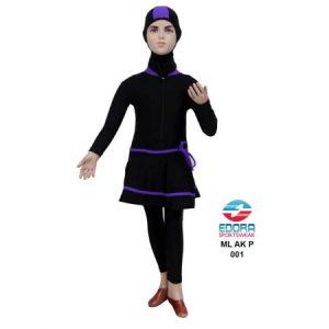 Baju Renang Anak Perempuan Edora Muslimah Berkualitas ML AK P 001