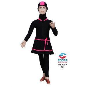 Baju Renang Anak Perempuan Edora Muslimah Berkualitas ML AK P 002