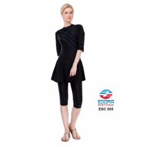 Baju Renang Edora Semi Cover ESC 005 Terbaru
