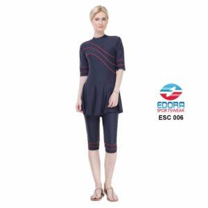 Agen Baju Renang Edora Semi Cover ESC 006