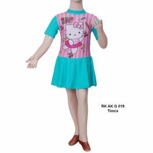 Jual Baju Renang TK Anak RK AK G 019 Tosca
