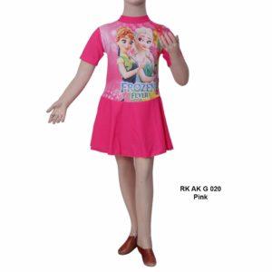 Baju Renang TK Anak RK AK G 020 Pink Terbaru
