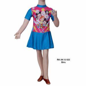 Baju Renang TK Anak RK AK G 022 Biru Murah