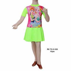 Jual Baju Renang Anak SD RK TG G 020 Hijau Stabilo