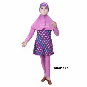 Busana Renang Anak Perempuan Sulbi SBAP 177