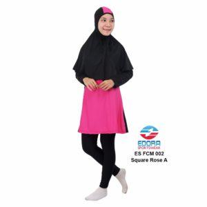 Busana Renang Muslimah Edora ES FCM 002 A Square Rose