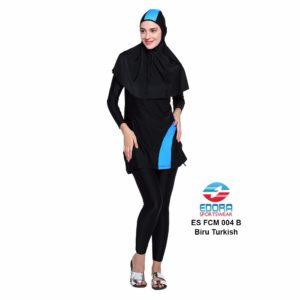 Agen Baju Renang Muslimah Edora ES FCM 004 B Biru Turkis