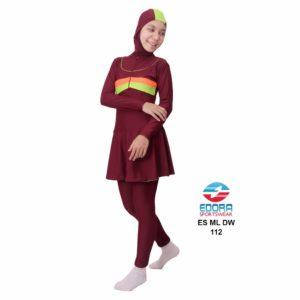 Busana Renang Edora Muslimah ES ML DW 112
