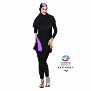 Agen Baju Renang Muslimah Edora ES FCM 004 A Ungu