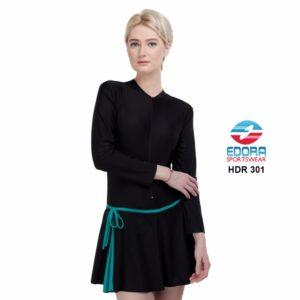 Baju Renang Wanita Edora Semi Cover HDR 301 Terbaru