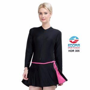 Baju Renang Wanita Terbaru Edora Semi Cover HDR 305