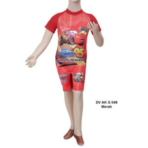 Distributor Baju Renang Anak TK Deedo DV AK G 049 Merah
