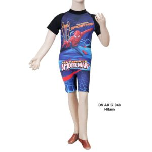 Supplyer Baju Renang Anak TK Deedo DV AK G 048 Hitam