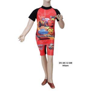 Jual Baju Renang Anak TK Deedo DV AK G 049 Hitam