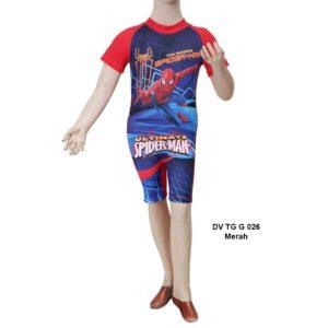 Jual Baju Renang Anak SD Deedo DV TG G 026 Merah